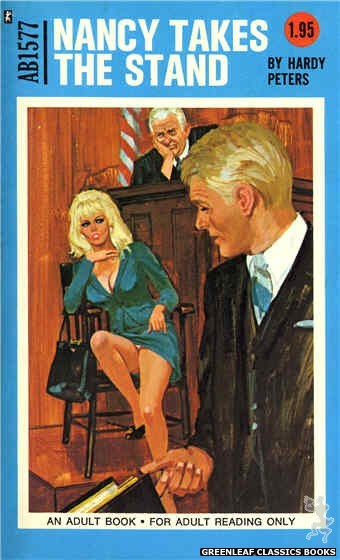 Adult Books AB1577 - Nancy Takes The Stand by Hardy Peters, cover art by Unknown (1971)