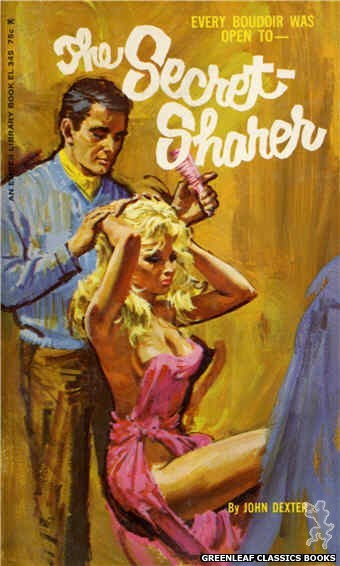 Ember Library EL 345 - The Secret-Sharer by John Dexter, cover art by Robert Bonfils (1966)