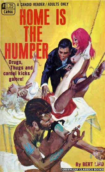 Candid Reader CA966 - Home Is The Humper by Bert Lind, cover art by Robert Bonfils (1969)