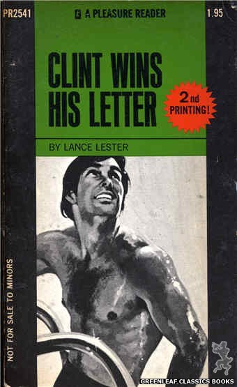 Pleasure Reader PR2541 - Clint Wins His Letter by Lance Lester, cover art by Unknown (1973)