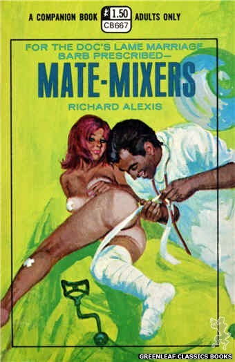 Companion Books CB667 - Mate-Mixers by Richard Alexis, cover art by Robert Bonfils (1970)