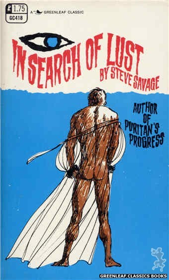 Greenleaf Classics GC418 - In Search Of Lust by Steve Savage, cover art by Unknown (1969)