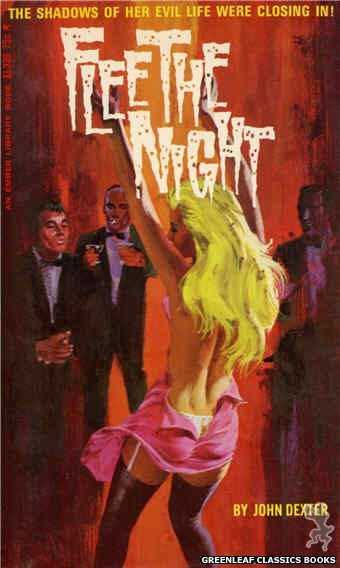 Ember Library EL 339 - Flee the Night by John Dexter, cover art by Robert Bonfils (1966)