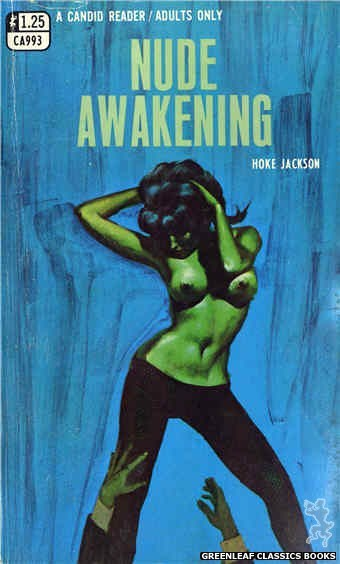 Candid Reader CA993 - Nude Awakening by Hoke Jackson, cover art by Ed Smith (1969)