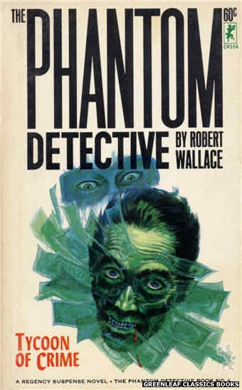 Corinth Regency CR104 - Tycoon of Crime by Robert Wallace, cover art by Robert Bonfils (1965)