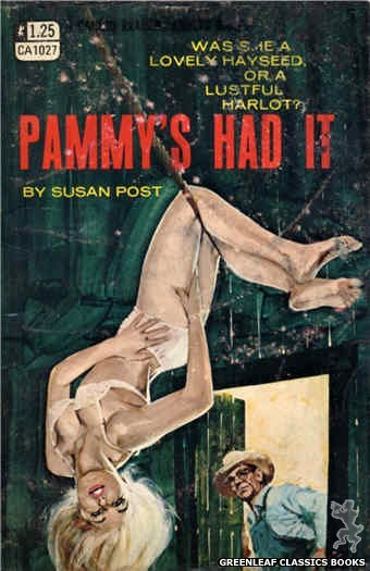 Candid Reader CA1027 - Pammy's Had It by Susan Post, cover art by Darrel Millsap (1970)