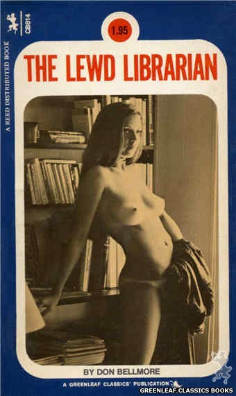 Companion Books CB814 - The Lewd Librarian by Don Bellmore, cover art by Photo Cover (1973)