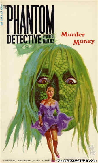 Corinth Regency CR115 - Murder Money by Robert Wallace, cover art by Robert Bonfils (1966)
