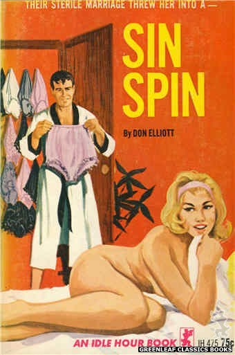 Idle Hour IH475 - Sin Spin by Don Elliott, cover art by Unknown (1965)
