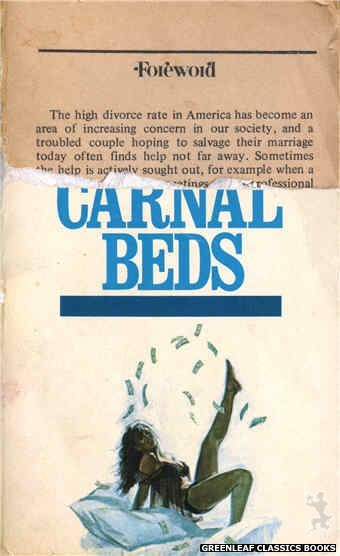 Reed Nightstand 4067 - The Carnal Beds by Patrick Lund, cover art by Unknown (1974)