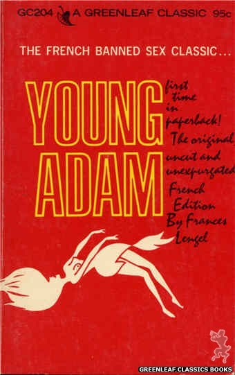 Greenleaf Classics GC204 - Young Adam by Frances Lengel, cover art by Unknown (1966)