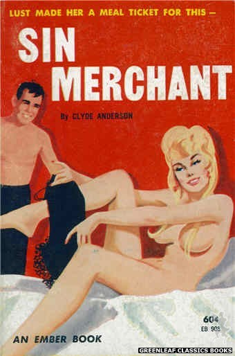Ember Books EB908 - Sin Merchant by Clyde Anderson, cover art by Unknown (1963)