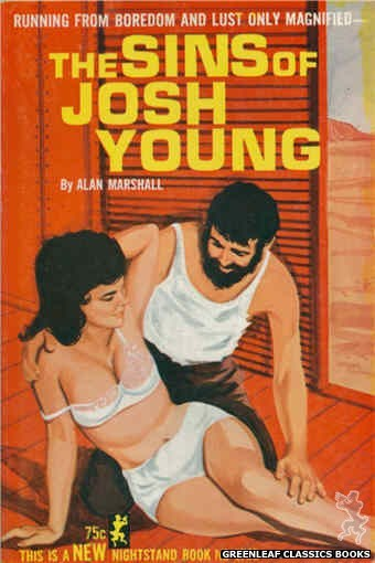 Nightstand Books NB1768 - The Sins of Josh Young by Alan Marshall, cover art by Unknown (1965)