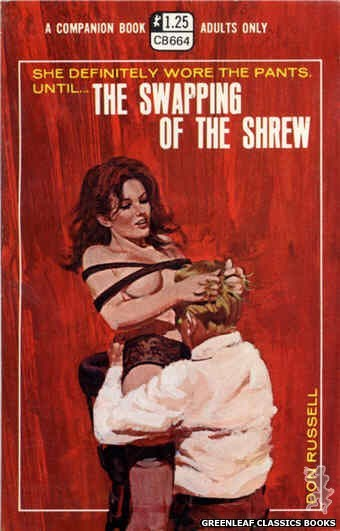 Companion Books CB664 - The Swapping of the Shrew by Don Russell, cover art by Robert Bonfils (1970)