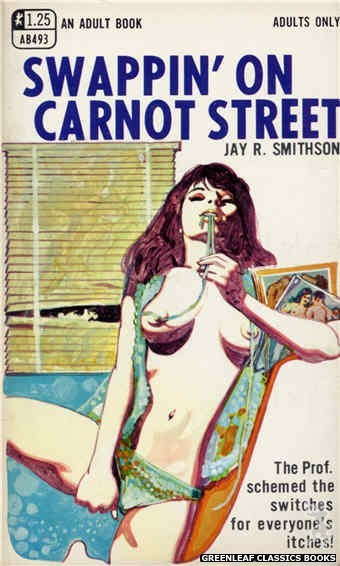 Adult Books AB493 - Swappin' On Carnot Street by Jay R. Smithson, cover art by Unknown (1969)