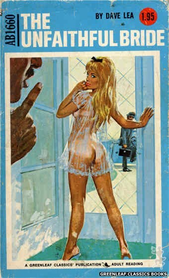 Adult Books AB1660 - The Unfaithful Bride by Dave Lea, cover art by Robert Bonfils (1973)