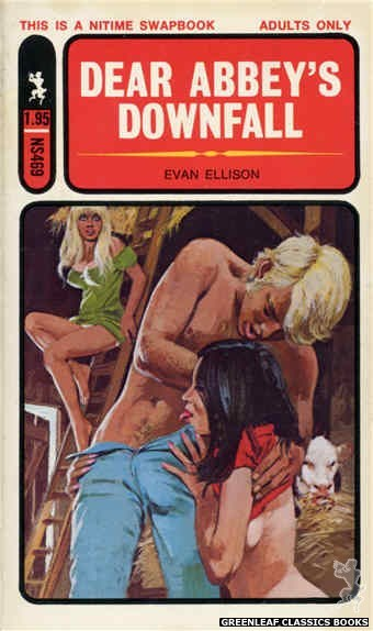 Nitime Swapbooks NS469 - Dear Abbey's Downfall by Evan Ellison, cover art by Unknown (1972)
