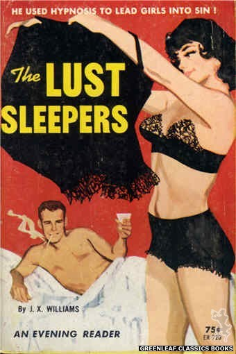 Evening Reader ER720 - The Lust Sleepers by J.X. Williams, cover art by Unknown (1964)