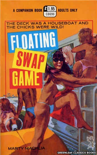 Companion Books CB696 - Floating Swap Game by Marty Machlia, cover art by Unknown (1971)