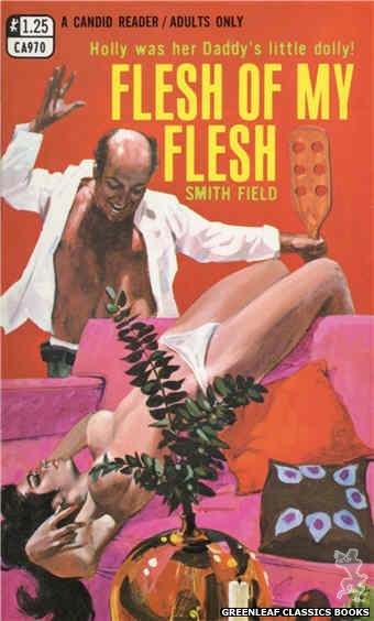 Candid Reader CA970 - Flesh Of My Flesh by Smith Field, cover art by Darrel Millsap (1969)