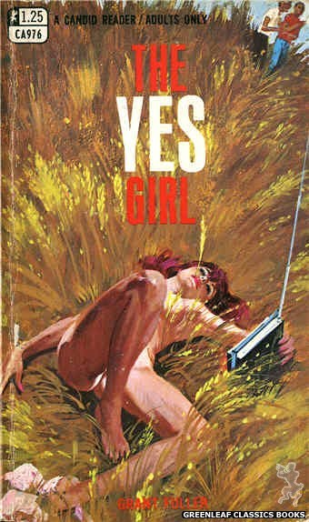 Candid Reader CA976 - The Yes Girl by Grant Fuller, cover art by Robert Bonfils (1969)