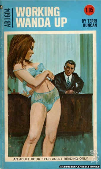 Adult Books AB1604 - Working Wanda Up by Terri Duncan, cover art by Unknown (1971)