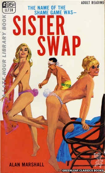 Late-Hour Library LL738 - Sister Swap by Alan Marshall, cover art by Unknown (1967)