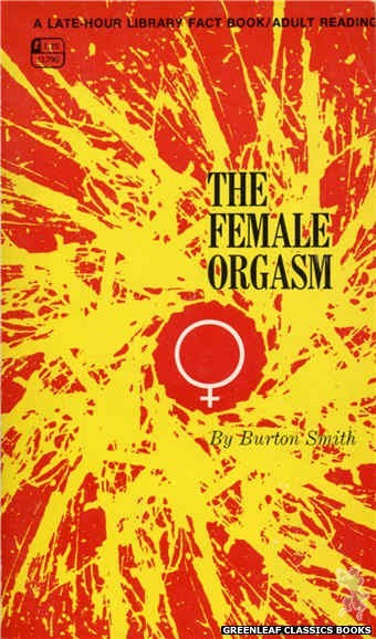 Late-Hour Library LL790 - The Female Orgasm by Burton Smith, cover art by Unknown (1968)