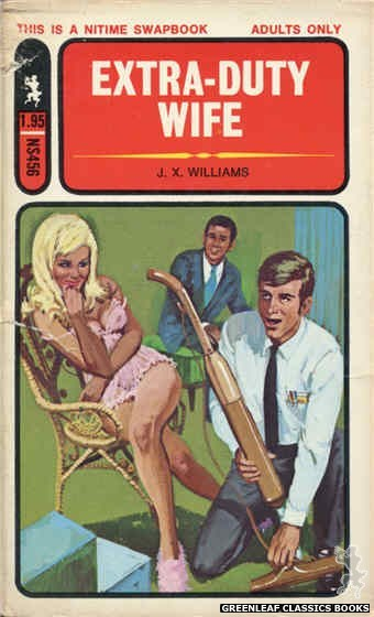 Nitime Swapbooks NS456 - Extra Duty Wife by J.X. Williams, cover art by Unknown (1971)