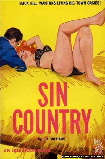 Idle Hour IH415 - Sin Country by J.X. Williams, cover art by Robert Bonfils (1964)