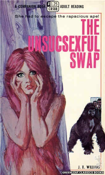 Companion Books CB588 - The Unsucsexful Swap by J.X. Williams, cover art by Robert Bonfils (1968)