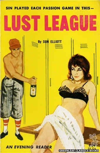 Evening Reader ER714 - Lust League by Don Elliott, cover art by Unknown (1963)