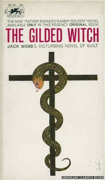 Regency Books RB311 - The Gilded Witch by Jack Webb, cover art by Robert Keys (1963)