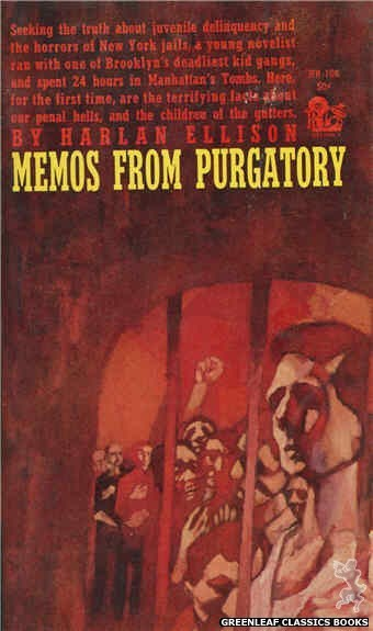 Regency Books RB106 - Memos From Purgatory by Harlan Ellison, cover art by The Dillons (1961)