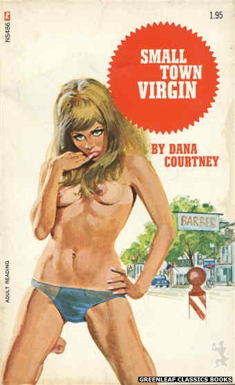 Nitime Swapbooks NS486 - Small Town Virgin by Dana Courtney, cover art by Unknown (1972)