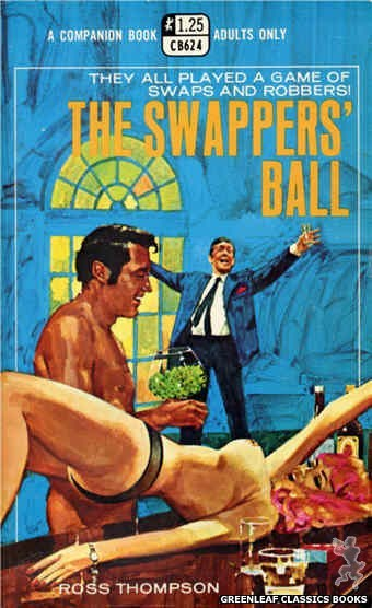 Companion Books CB624 - The Swappers' Ball by Ross Thompson, cover art by Darrel Millsap (1969)