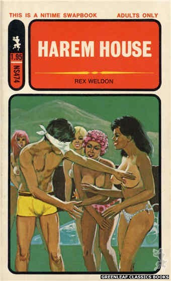Nitime Swapbooks NS474 - Harem House by Rex Weldon, cover art by Unknown (1972)