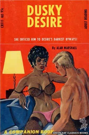 Companion Books CB511 - Dusky Desire by Alan Marshall, cover art by Ed Smith (1967)