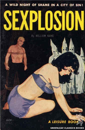 Leisure Books LB617 - Sexplosion by William Kane, cover art by Unknown (1963)