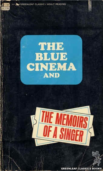 Greenleaf Classics GC336 - The Blue Cinema by No-Author-Listed, cover art by Unknown (1968)