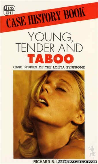 Case History CH1 - Young, Tender And Taboo by Richard B. Long, cover art by Photo Cover (1972)