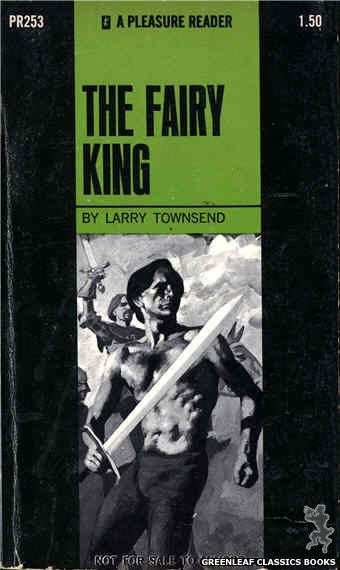 Pleasure Reader PR253 - The Fairy King by Larry Townsend, cover art by Unknown (1970)