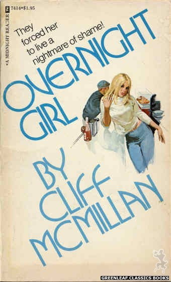 Midnight Reader 1974 MR7414 - Overnight Girl by Cliff McMillan, cover art by Unknown (1974)
