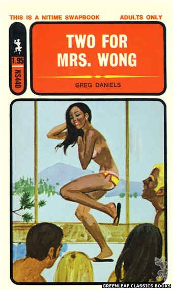 Nitime Swapbooks NS440 - Two For Mrs. Wong by Greg Daniels, cover art by Unknown (1971)