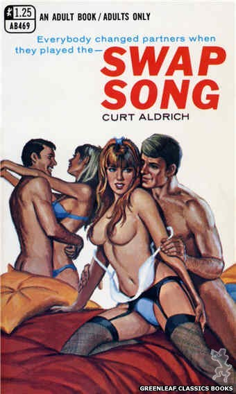 Adult Books AB469 - Swap Song by Curt Aldrich, cover art by Ed Smith (1969)