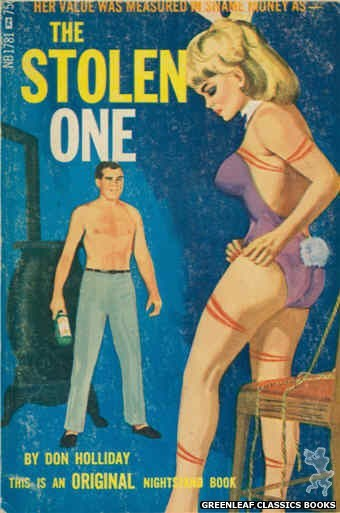 Nightstand Books NB1781 - The Stolen One by Don Holliday, cover art by Unknown (1966)