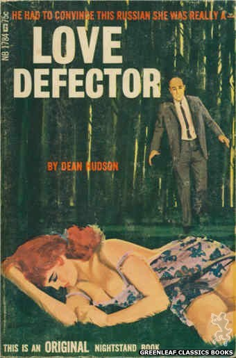 Nightstand Books NB1784 - Love Defector by Dean Hudson, cover art by Unknown (1966)