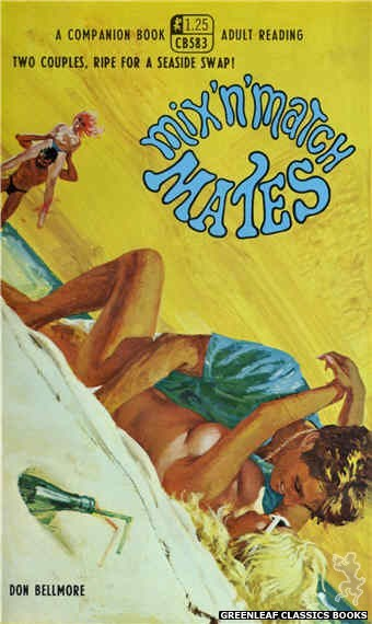 Companion Books CB583 - Mix 'N' Match Mates by Don Bellmore, cover art by Robert Bonfils (1968)