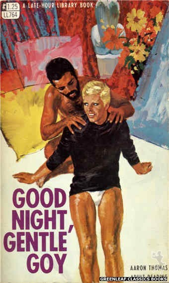Late-Hour Library LL764 - Good Night, Gentle Goy by Aaron Thomas, cover art by Robert Bonfils (1968)