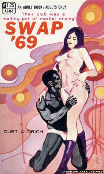 Adult Books AB465 - Swap '69 by Curt Aldrich, cover art by Unknown (1969)